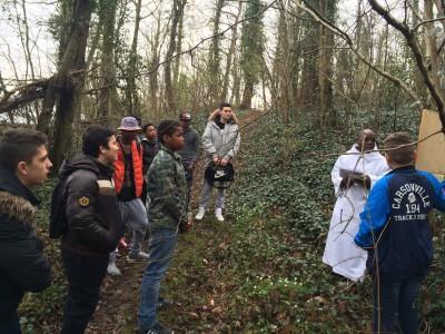 Chemin de croix dans les bois de Saint-Jean