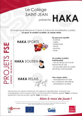HAKA Sections sportives